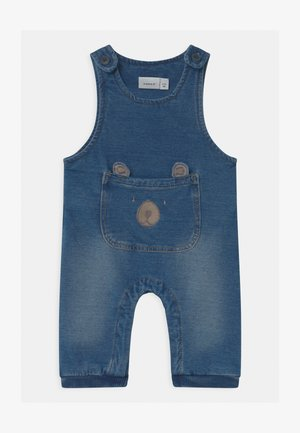 NBMBOB BABY - Tuinbroek - medium blue denim