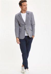 DeFacto - Blazer jacket - blue-grey - 1
