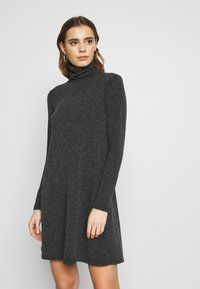 Even&Odd - Jumper dress - mottled grey - 0