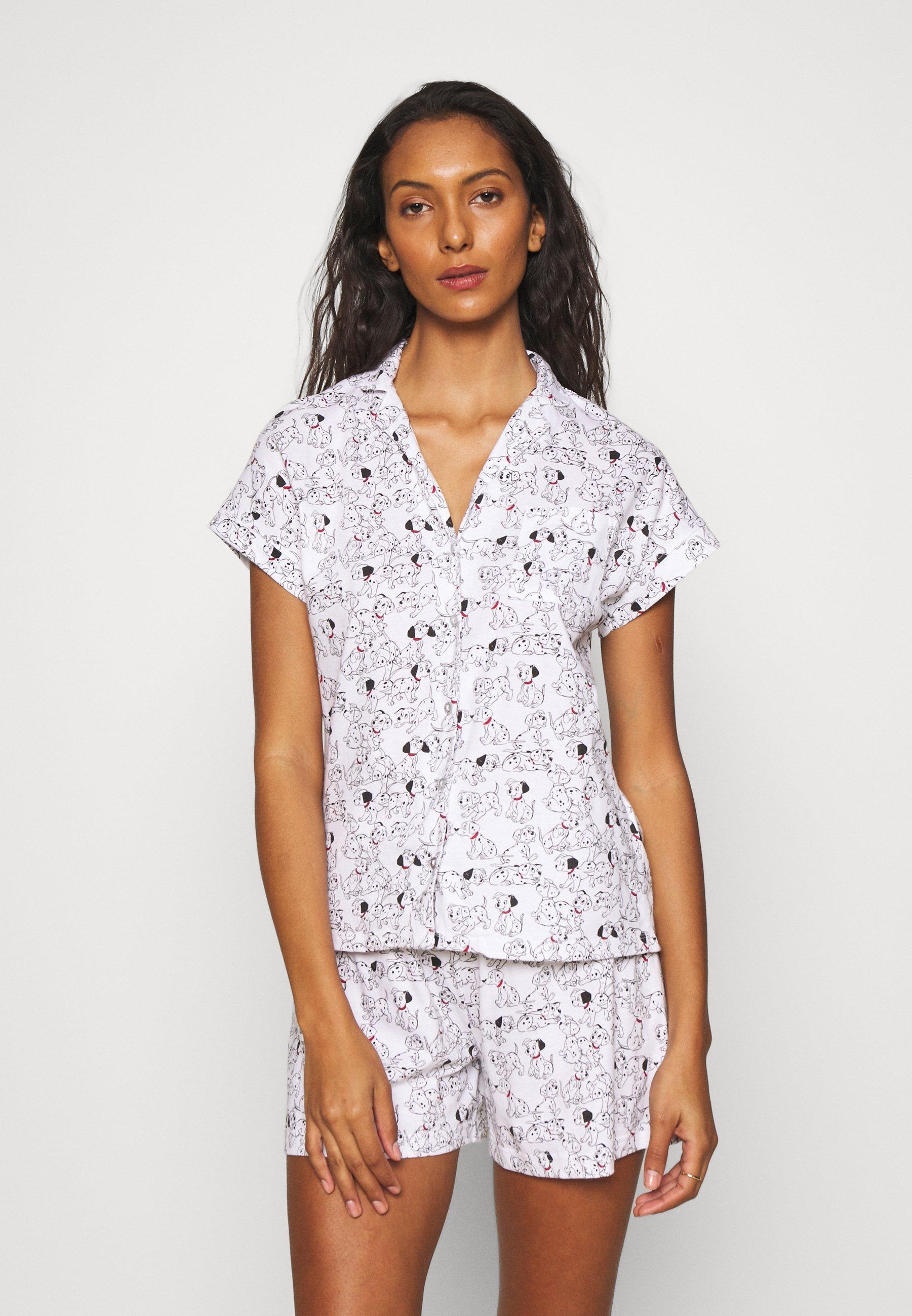 Femme SHORT SLEEVES MASCULINE 101 DALMATIANS - Pyjama
