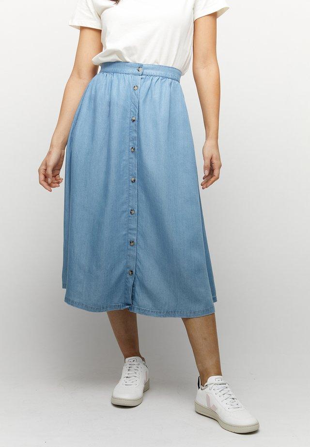 CORA - A-line skirt - light blue