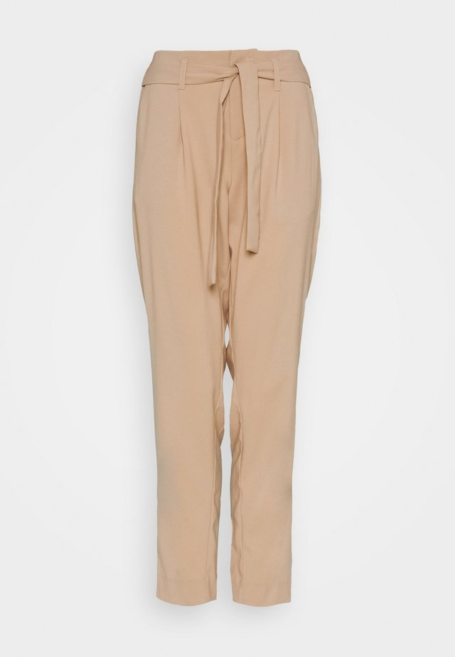 BELTED PANT - Trousers - smoke