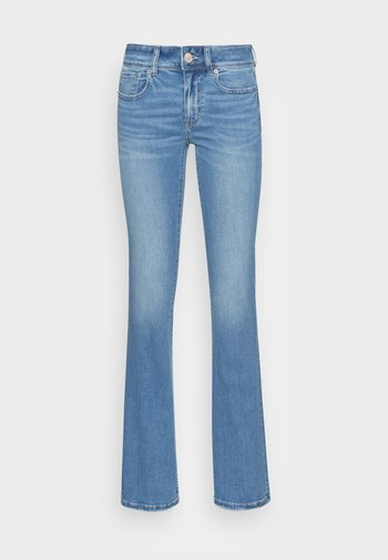 KICK BOOT - Bootcut jeans - faded light