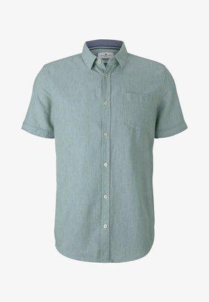 Shirt - green structure
