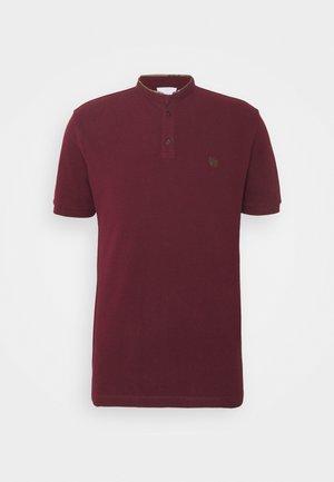 Koszulka polo - burgundy/kaki