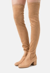 Steve Madden - ISAAC - Over-the-knee boots - tan - 0