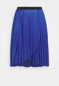 CAPSULE by Simply Be - PLEATED WRAP SKIRT - Wrap skirt - blue - 0