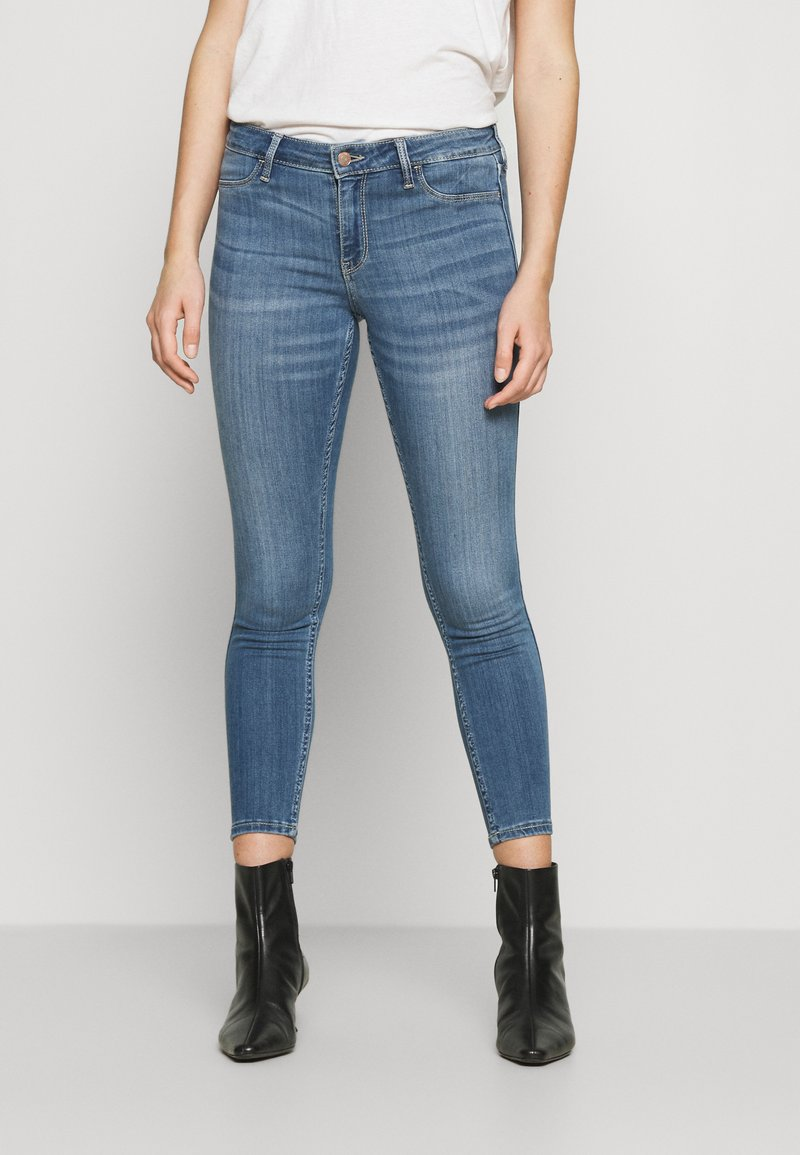Hollister Co. - Skinny džíny - blue denim