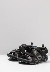 Hi-Tec - CRATER - Chodecké sandály - charcoal/cool grey - 2
