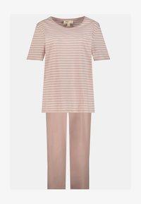 Ulla Popken - Pyjama set - mauve - 1