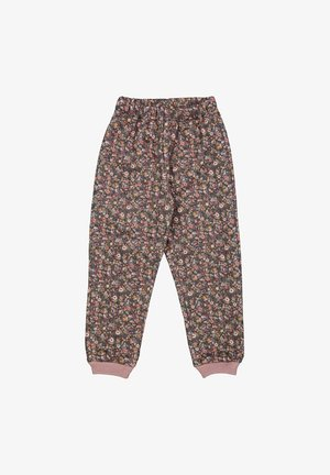 THERMO PANTS ALEX - Tracksuit bottoms - ink flowers