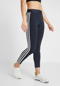 adidas Performance - Tights - legend ink/white - 0
