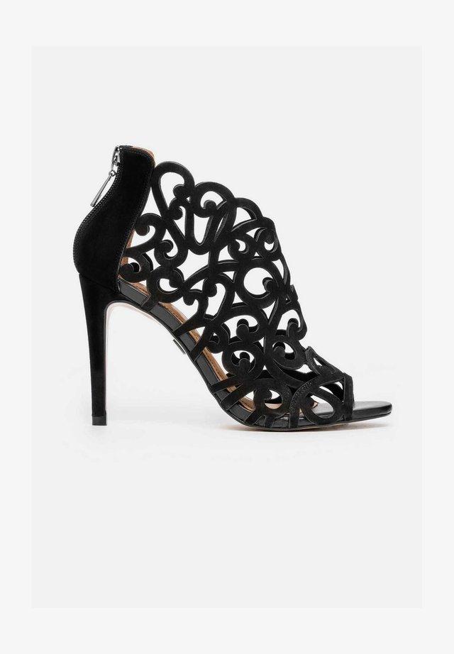 MEGAN - Sandalen met hoge hak - black