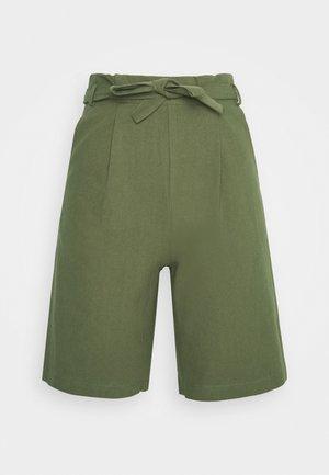 HIGH WAISTED - Shorts - olive
