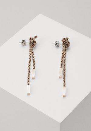 ROSETTE - Earrings - rose gold-coloured