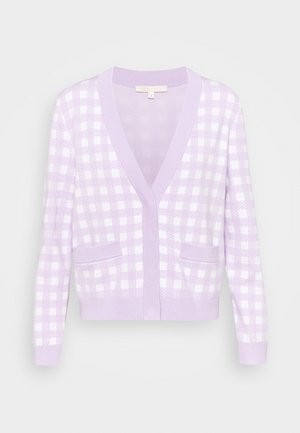 MYSTYLE - Cardigan - parme