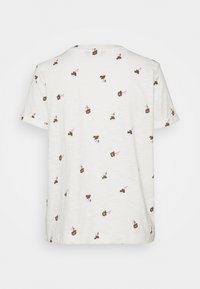 Marks & Spencer London - AUTH POCK TEE - Triko s potiskem - off-white - 7