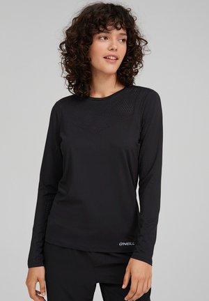 TRAVEL LASER  - Long sleeved top - blackout