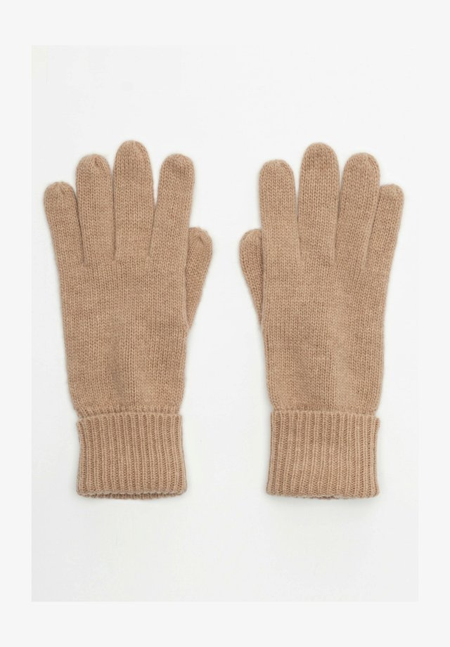Gloves - beige