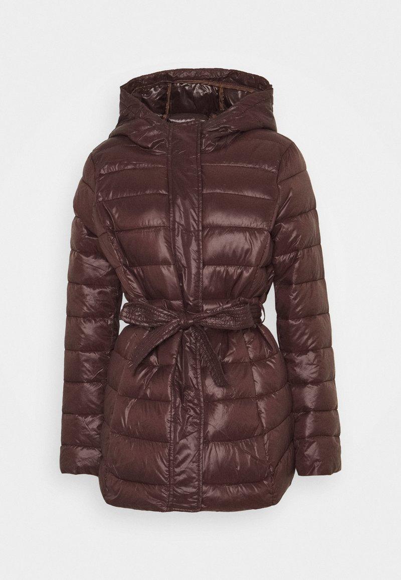 Vero Moda - VMSORAYALYDIA JACKET  - Winter coat - chocolate plum