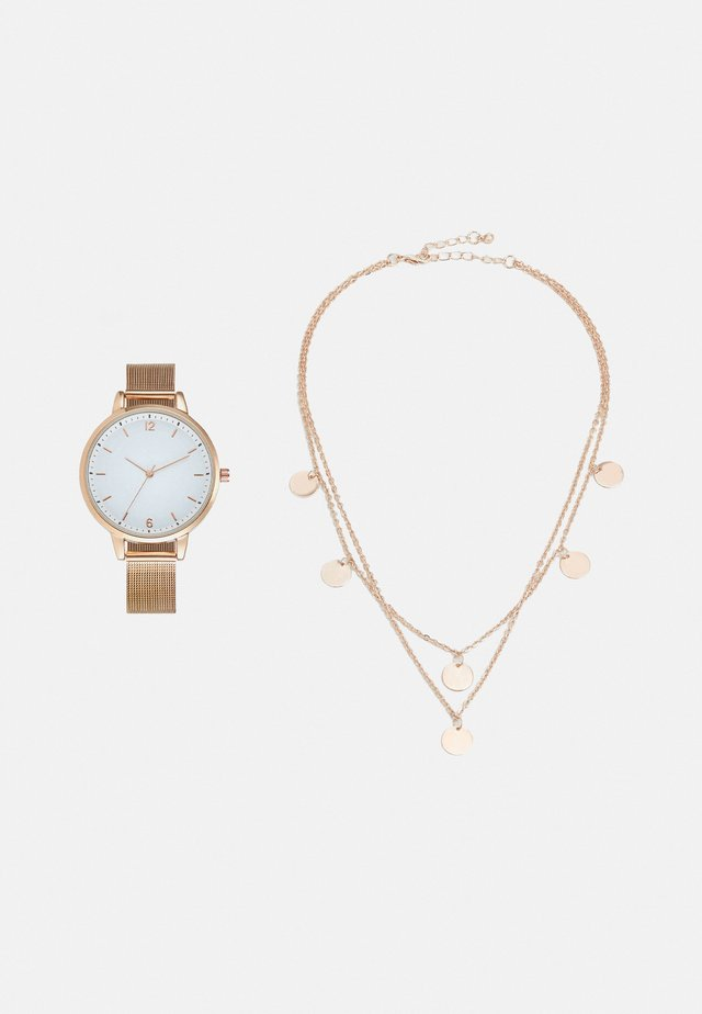 SET - Uhr - rose gold-coloured