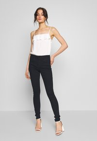 G-Star - CITI YOU HIGH SUPER SKINNY - Jeans Skinny Fit - worn in midnight wp - 1