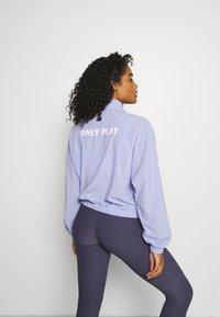 ONLY Play - ONPAIDAN ZIP JACKET - Training jacket - sweet lavender/white - 2