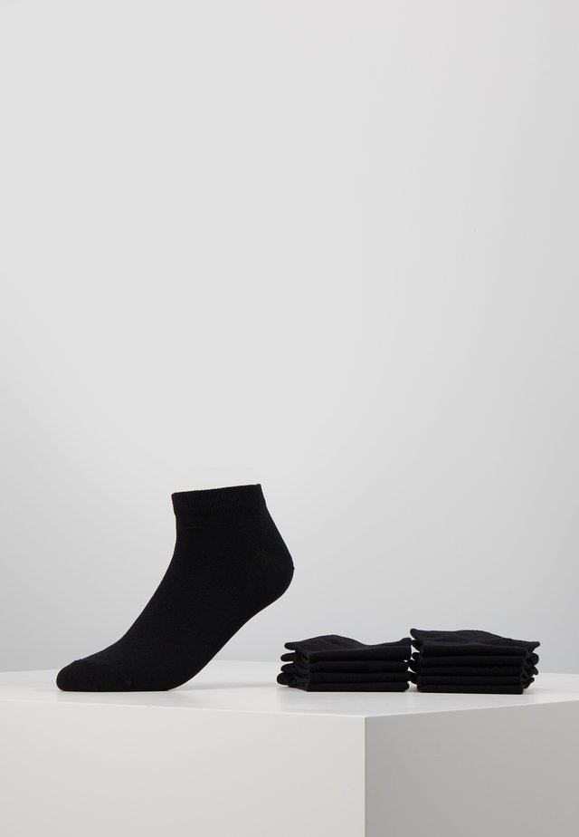 JACDONGO SOCKS 10 PACK - Sokker - black/black
