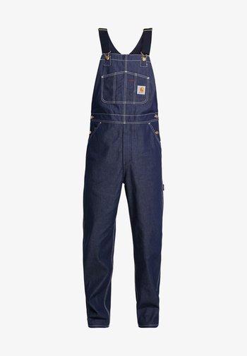 SIMPLE PANT NORCO - Džíny Straight Fit - blue rigid