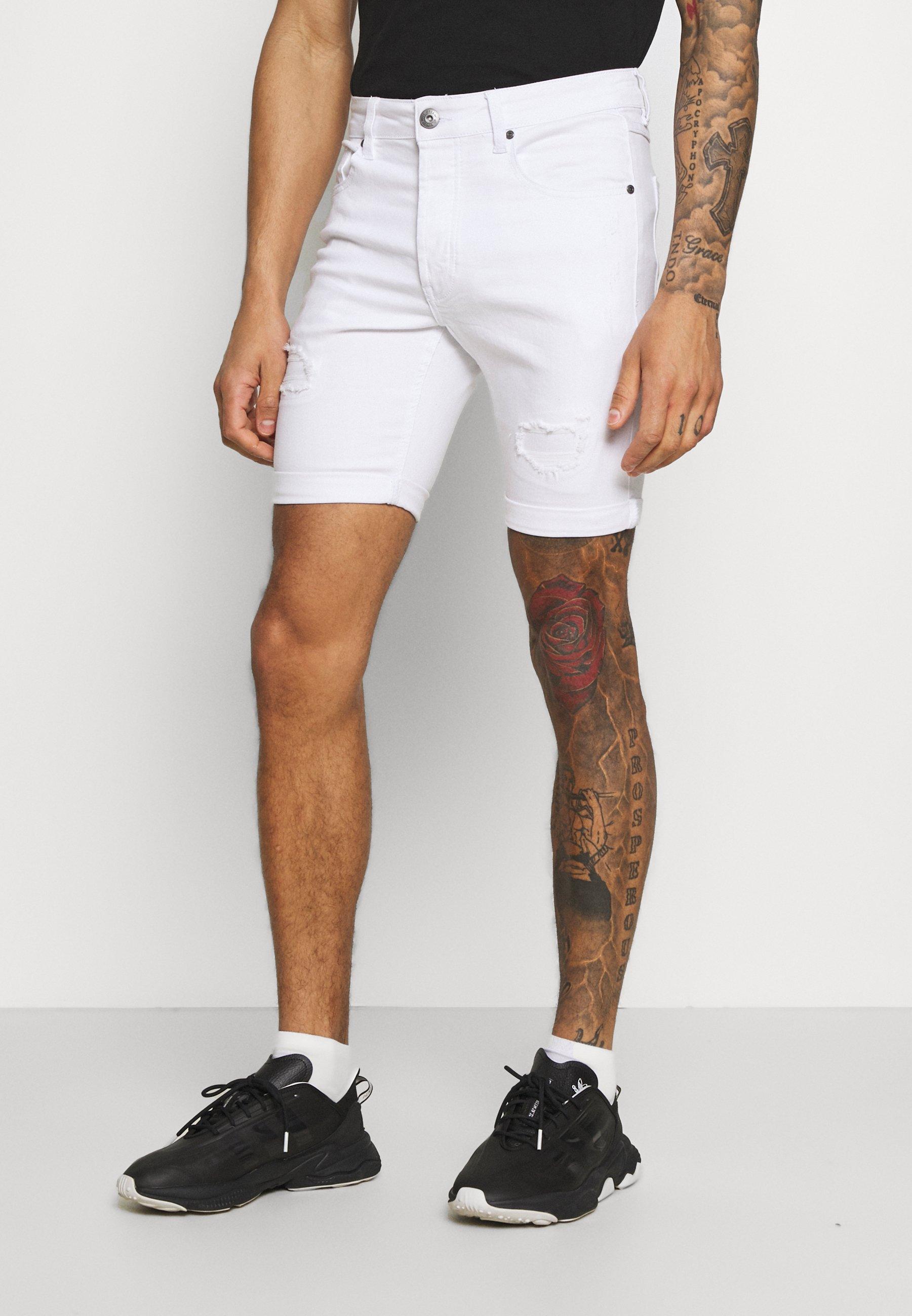 Men LUMOR - Denim shorts