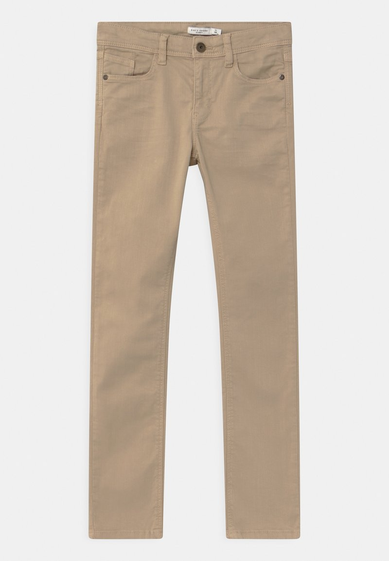 Name it - NKMTHEO  - Slim fit jeans - white pepper