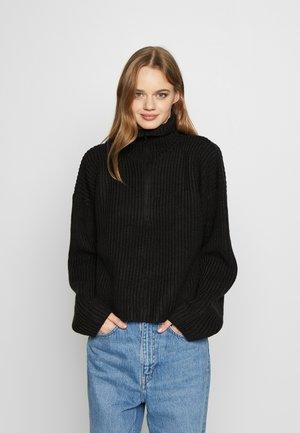 ALISSA - Jersey de punto - black