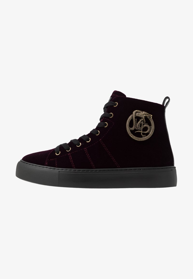 Just Cavalli - Höga sneakers - burgandy