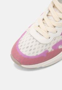 Scotch & Soda - LOU - Sneakers laag - white/purple - 7
