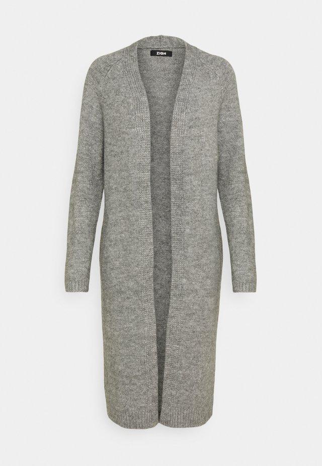 Neuletakki - mottled grey