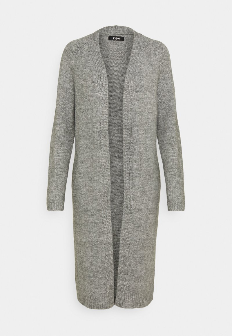 Zign - Cardigan - mottled grey