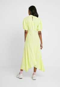 Ghost - JENNA DRESS - Maxi dress - lime/white - 2