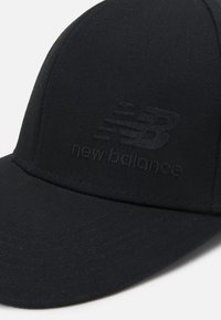 New Balance - TEAM STACKED SNAPBACK UNISEX - Cappellino - black - 3