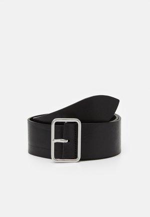 CROWN MAXI BELT - Belte - black
