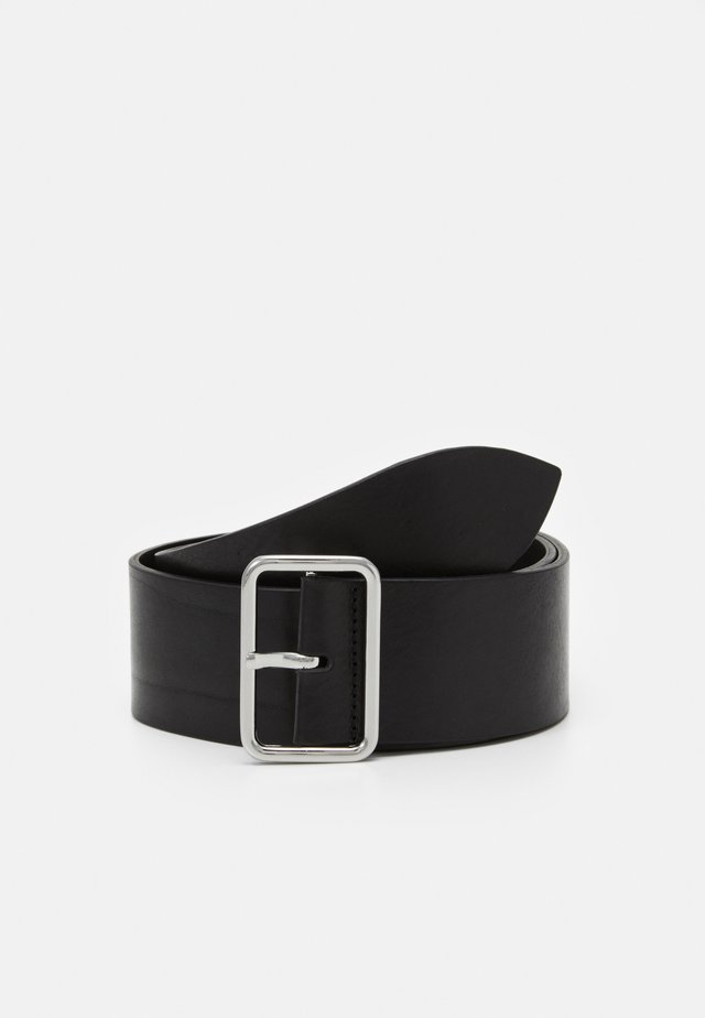 CROWN MAXI BELT - Belt - black