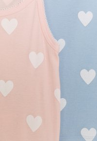 Petit Bateau - HEART PRINT CHEMISES 2 PACK - Undershirt - light pink/blue - 3