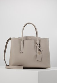 kate spade new york - MARGAUX LARGE SATCHEL - Sac bandoulière - true taupe - 0