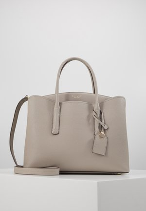 MARGAUX LARGE SATCHEL - Across body bag - true taupe