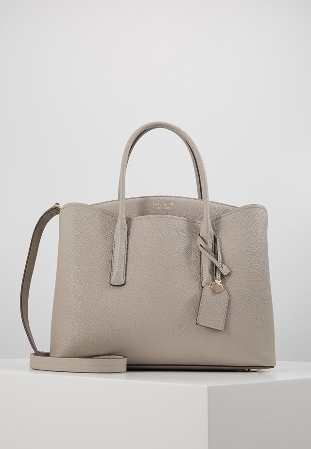 MARGAUX LARGE SATCHEL - Skulderveske - true taupe