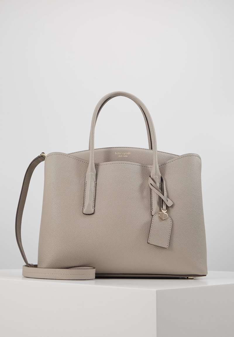 kate spade new york - MARGAUX LARGE SATCHEL - Sac bandoulière - true taupe