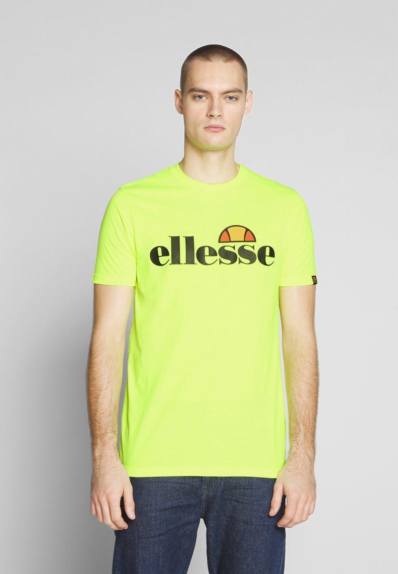 Ellesse - PRADO - Printtipaita - neon yellow