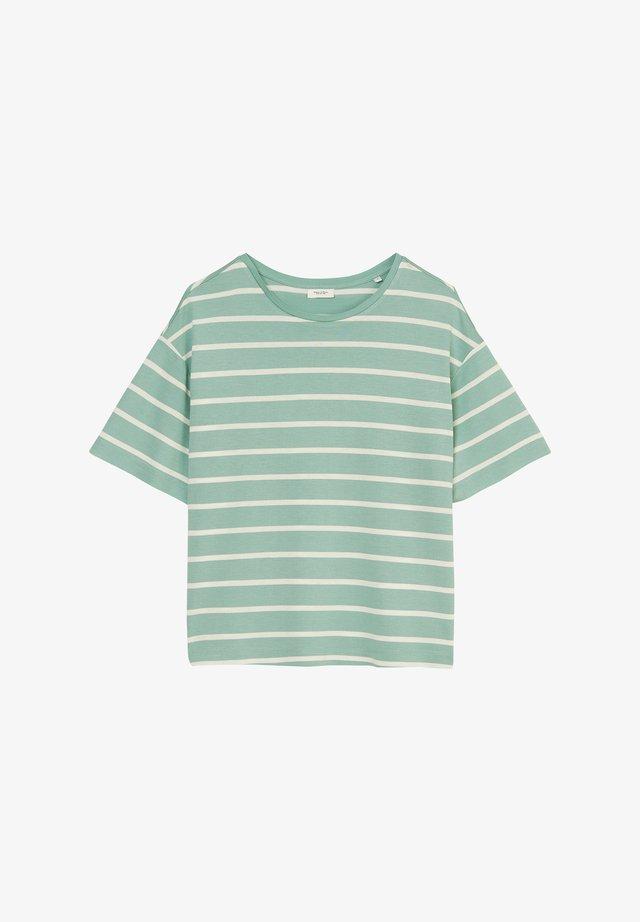 T-shirt print - milky mint