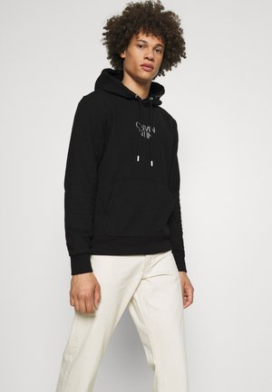 SHADOW CENTER LOGO HOODIE - Sweatshirt - black