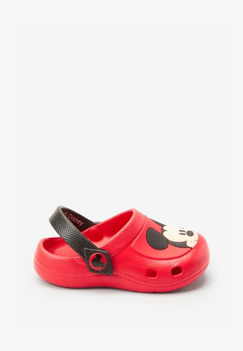 Clogs - red