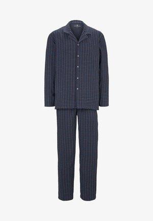 Pyjama set - blue dark check